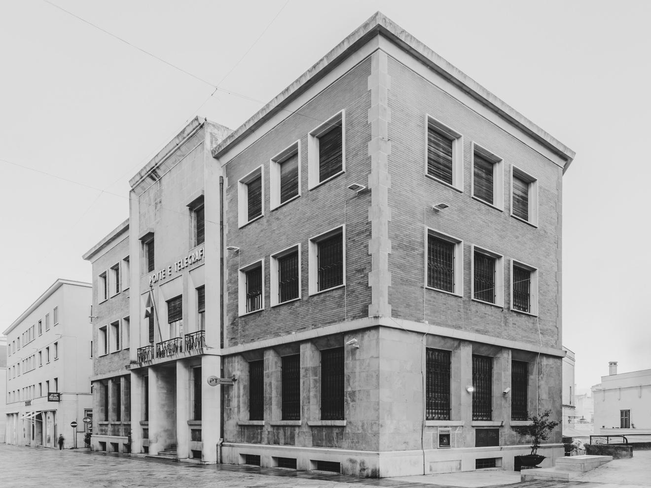 Palazzo delle Poste e Telegrafi - Matera 1932, V.Corazza