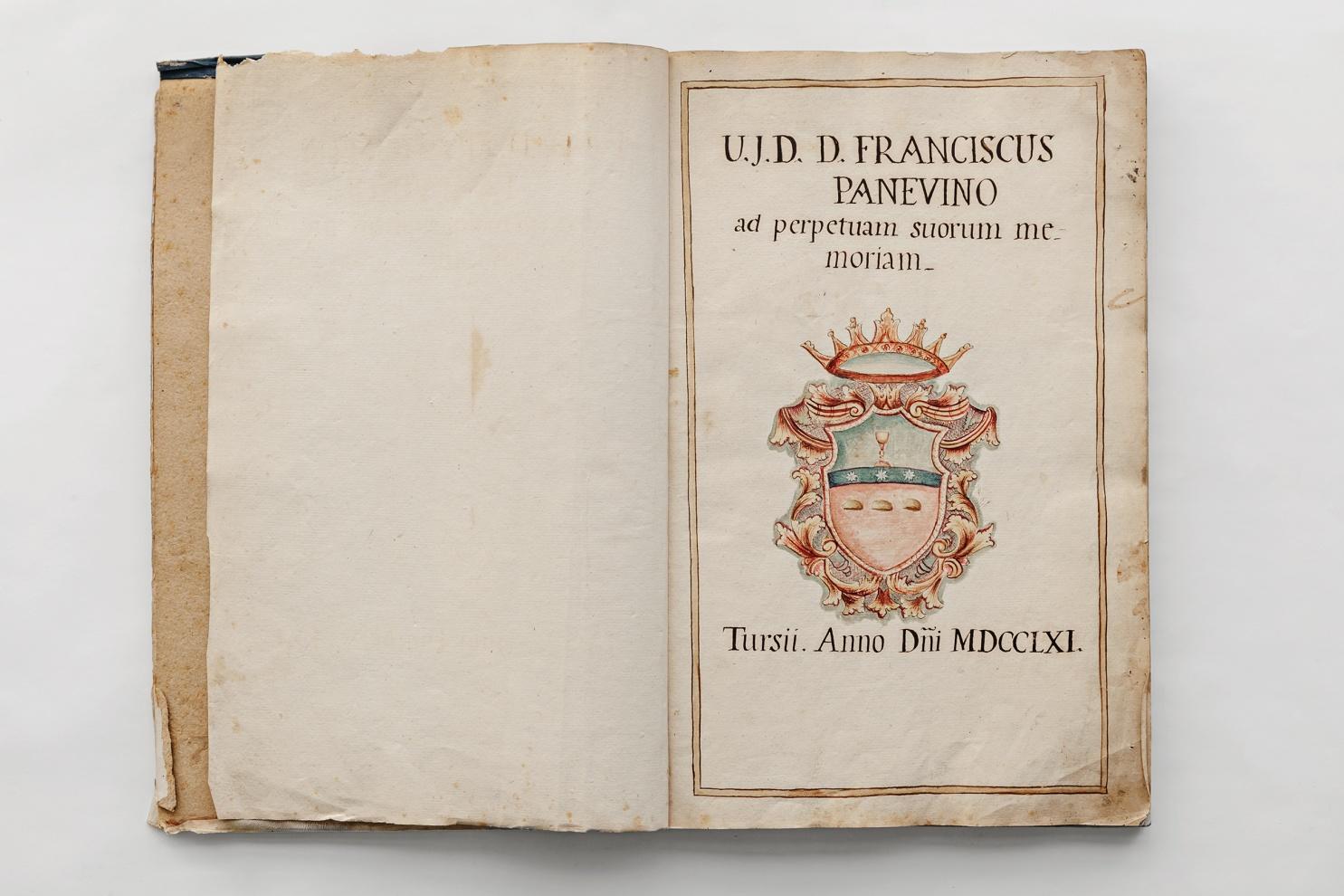 PLATEA DI TURSI - anno 1761