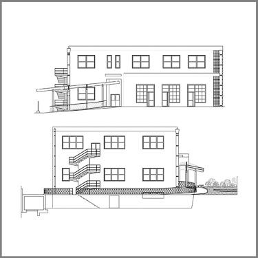 edificio polifunzionale | amorosi | bn