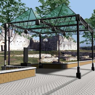 II CALASSIFICATO   un parco archeologico per venosa   venosa   pz