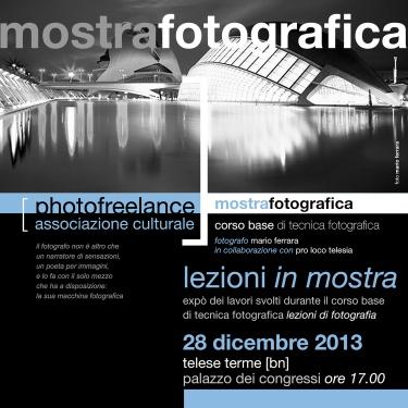 lezioni di fotografia   2013   mostra