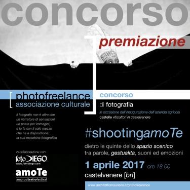 shooting amote | 2017 | premiazione