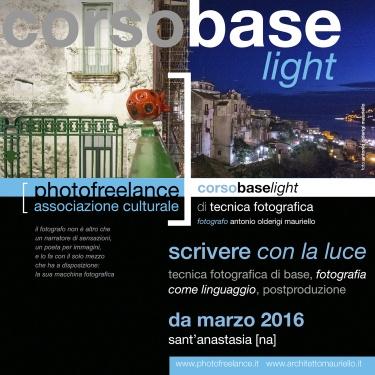 scrivere con la luce light   2016