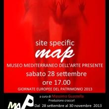 PALE D'ALTARE Site Specific  MAP  Museo dell'Arte Presente 2013 (Brindisi)