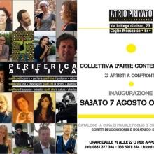 PERIFERICA ATTIVA (2010) - Atelier privato del pittore-scultore Uccio Biondi, Ceglie Messapica (Brindisi)