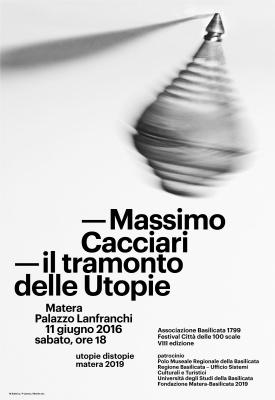 MASSIMO CACCIARI - IL TRAMONTO DELLE UTOPIE