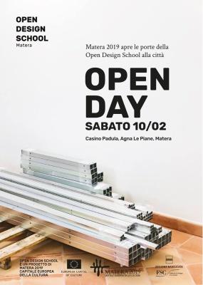 OPEN DAY OPEN DESIGN SCHOOL MATERA