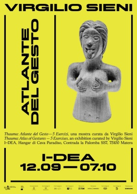 I-DEA/Matera 2019 - Thauma, Atlante del gesto / Virgilio Sieni
