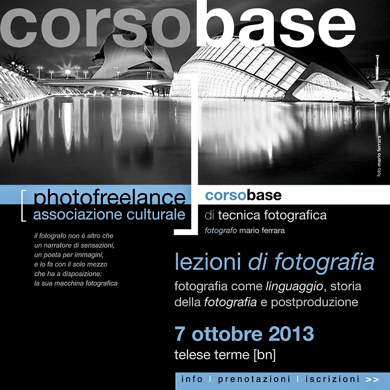 lezioni di fotografia 2013
