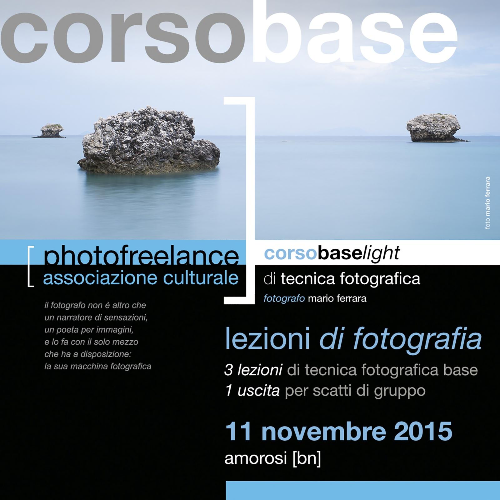 lezioni di fotografia light 2015