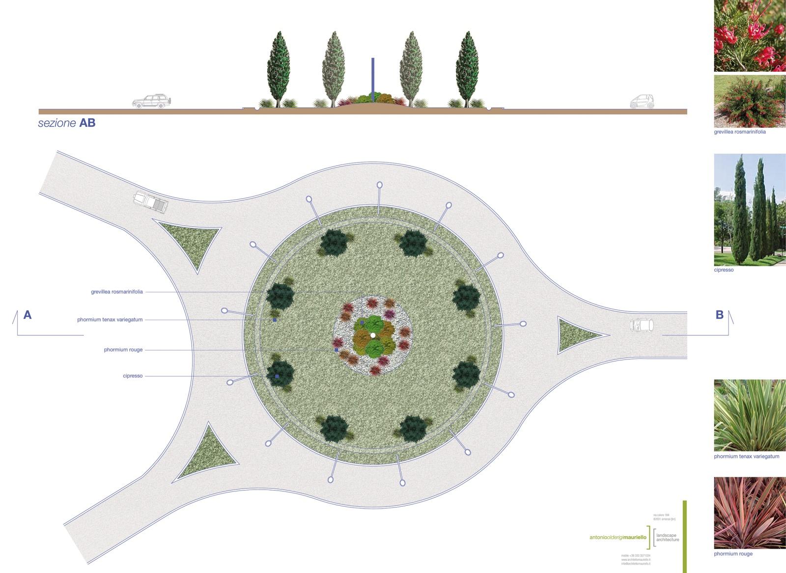 progetto: pianta e sezione