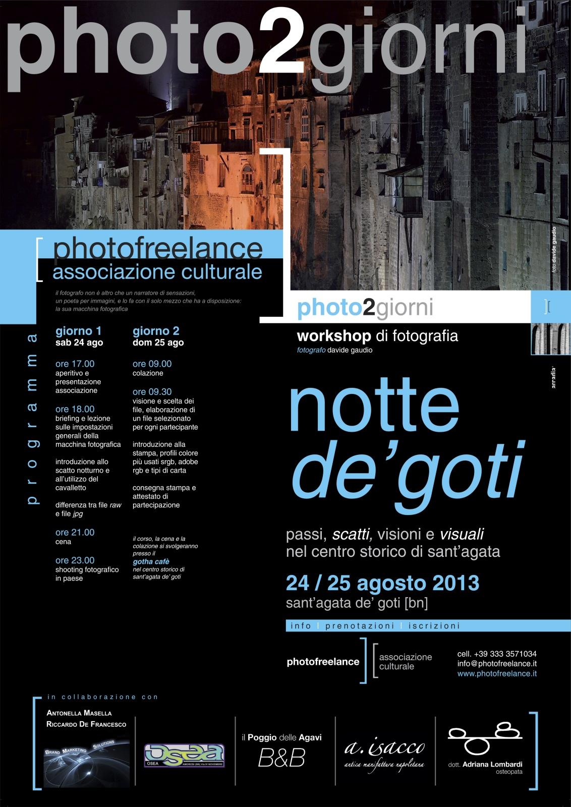 notte de'goti 2013 | locandina