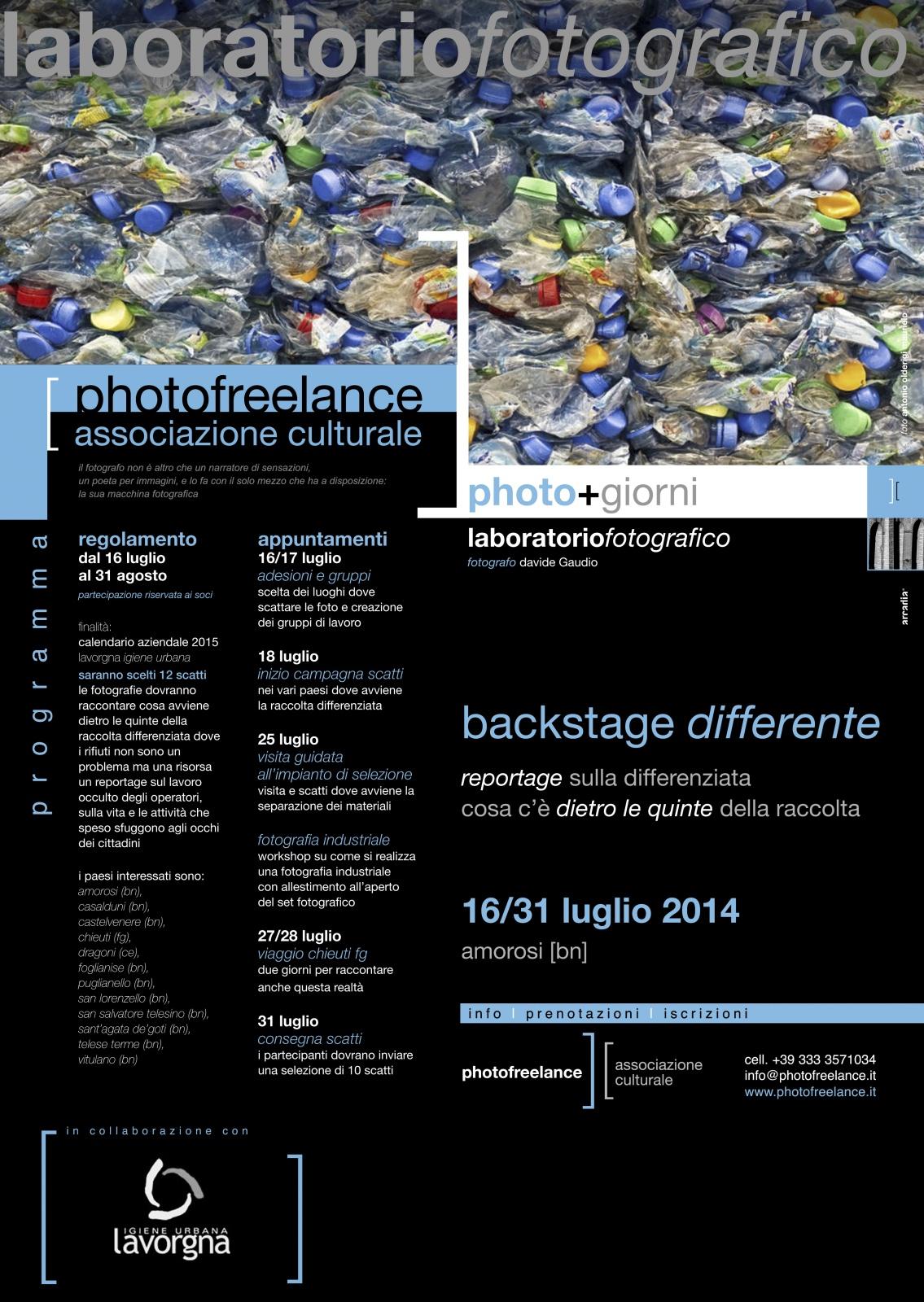 backstage differente | 2014