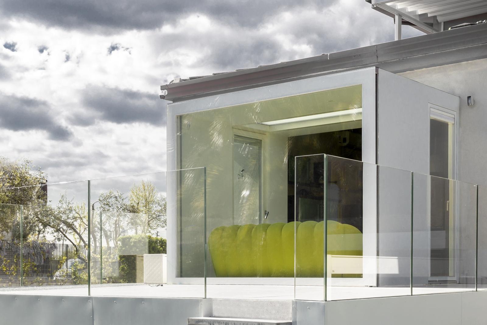 box vetrato | esterno