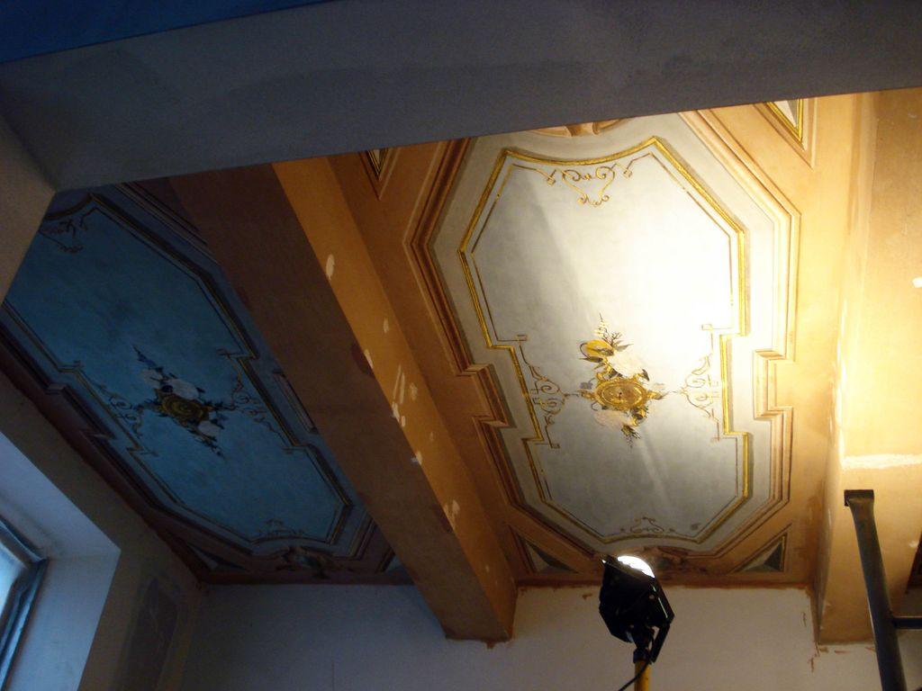 Soffitti dipinti fine '800