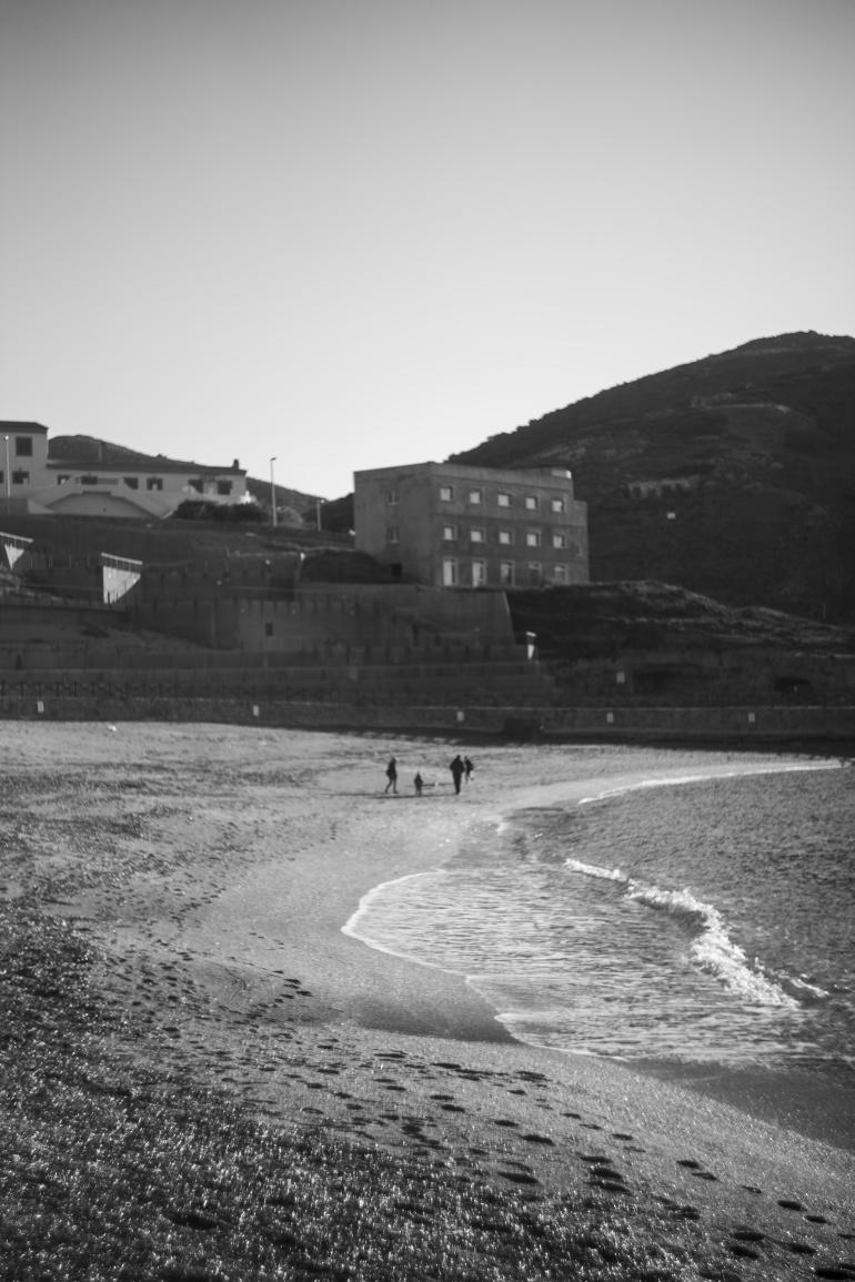 Dalla spiaggia. Vista con Cinema
